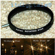 67mm Rotating Star 6F Lens Filter Six Point Flares Stars Special Light Effect