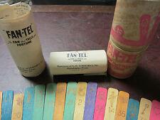 1930s FAN-TEL FORTUNE TELLING TAROT 'The Fan That Tells Your Fortune'