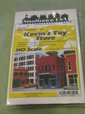 "Smalltown USA HO #699-6021 Kevin's Toy Store - Kit - 4-3/4 x 2-3/4"" 11.9 x 6.9cm"