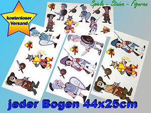 Wand Sticker fürs Kinderzimmer, Wandtattoo, Wandaufkleber Figuren Degen Schwert