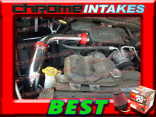 K&N+RED 02-10 DODGE RAM 1500/2500/3500 3.7L 4.7L 5.7L COLD AIR INTAKE KIT