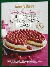 AUSTRALIAN WOMEN'S WEEKLY MINI COOKBOOK ULTIMATE CHRISTMAS FEAST JULIE GOODWIN
