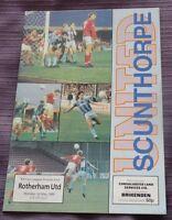 Scunthorpe v Rotherham United, 1 May 1989