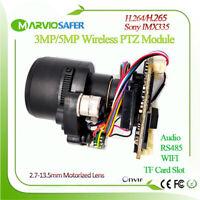H.265 5MP Starlight Wifi Network Camera Module, CCTV Wireless IP Camera Board