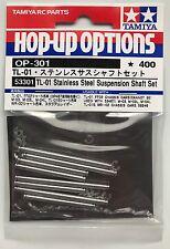 Tamiya 53301 TL-01 Stainless Steel Suspension Shaft Set (TL01/FF02/M03/WR02) NIP
