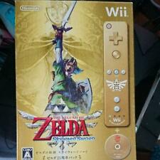 The Legend of Zelda Skyward Sword Gold Remote Special Edition Controller Boxed