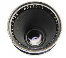 Schneider 25mm f1.5 Xenon Arriflex standard mount  #5045072