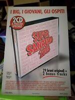 NO CD/LP - SUPER SANREMO 2008 - CARTONATO PUBBLICITARIO RIGIDO - cm 48 x cm 68