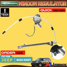 For Jeep Cherokee KJ AJ 2002-2006  Power Window Regulator W/ Motor Rear Right
