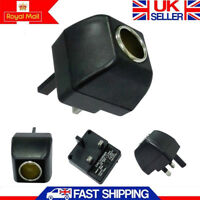 UK 240V Cigarette Lighter Socket Mains to 12V DC 6W Car Charger Power Adapter