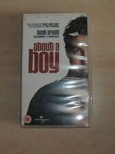 ABOUT A BOY - Hugh Grant , Toni Collette , Rachel Weisz (VHS VIDEO)