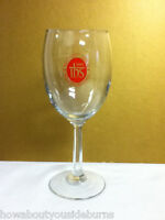 Nativity Jesuit Middle School 1993 1 wine stemmed glass glassware NT5