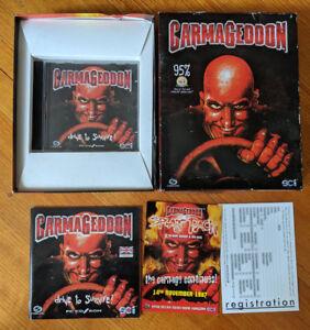 Carmageddon (PC 1997) - Big Box Edition