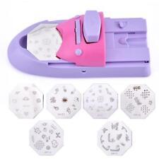 Nail Printer Machine Pattern Printing Manicure Diy Tool Drawing Polish Stamp Set