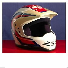 Vintage Lazer MALCOLM SMITH Motorcross Helmet Collectable Husqvarna