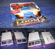 LucasArts Adventures Loom Loom Rare Cahier PC également pour nouvelles Machines allemand