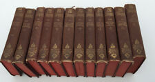 "SHAKESPEARE ""SHAKSPEARE"" HANDY VOLUME EDITION 12 VOLUMES HC SET MASON BOSTON MA"