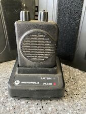 Minitor 5 Vhf Single Channel With Charger 151-158.9975