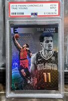 2018 Panini Chronicles Essentials #234 Trae Young Rookie Hawks PSA 9 MINT RC