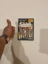 Seven Samurai 20Xx [Sony PlayStation 2 Ps2 Us Ntsc] Complete Cib