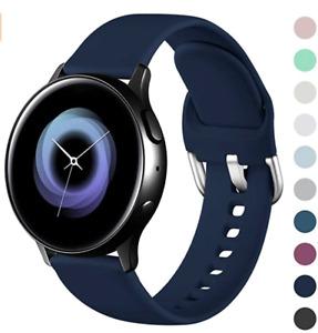 Armband für Samsung Galaxy Watch Active/Active2 Silikon 40mm/44mm Sport Band