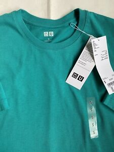 Uniqlo U Crew Neck Cotton T Shirt Size S Green