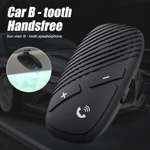 Wireless Bluetooth 5.0 Hands Free Car Kit Speakerphone Sun Visor Speaker Phone