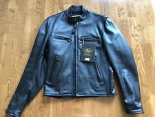 Alexander Simmons Bilt Cafe Racer Leather Jacket Coat S XS Bomber Motocycle