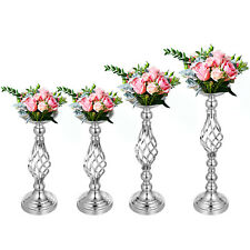 Flower Rack for Wedding Metal Candle Stand 4pcs Event Centerpiece Candle Holder
