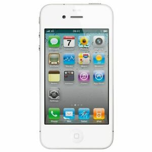 Apple Iphone 4 White  8GB A1349 Sprint mobile Phone Grade A