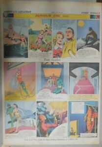 Flash Gordon Sunday by Alex Raymond from 7/28/1940 Large Full Page Size !