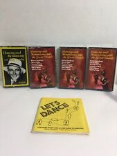 Readers Digest Dancing and Reminiscing  Great Bands 4 CASSETTE TAPE W/CASE, BOOK