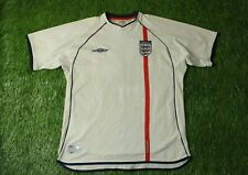 England National Team 2001/2003 Football Soccer Shirt Jersey Home Umbro Original