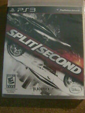 Split/Second (Sony PlayStation 3, 2010) Brand New & Sealed