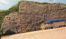 SHEER CLIFF HO S O On30 F G Model Railroad Diorama Scenery Rubber Rock CVCS