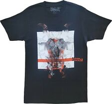 New Men's Slipknot NMT Red Bar Heavy Metal Band Black T-Shirt Tee