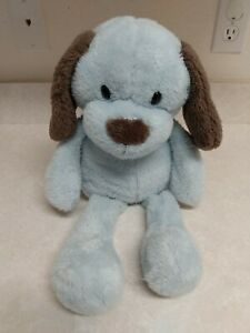 Animal Adventure Sweet Sprouts Puppy Dog Blue Brown Plush Floppy Stuffed 2015