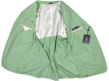 NEW Polo Ralph Lauren Sportcoat (Jacket)!  XXL *Green & White Gingham*   *ITALY*