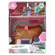 Disney Aurora Cottage Animators Littles Mini 10 Piece Toy Playset & Figures