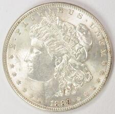 1889 Us Mint Morgan Silver Dollar $1 Coin