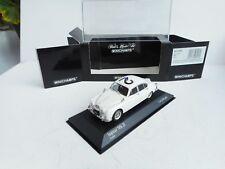 JAGUAR MKII MK2 1959 POLICE MINICHAMPS 430130690 1/43 ENGLISH WHITE  New OVP