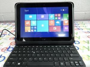 HP Elitepad 900 with Productivity Keyboard Jacket & Power Adapter w/ Windows