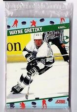1991 Score NCWA Complete Set of 10 Hockey Cards Gretzky Hull Yzerman Roy