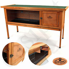 Wooden 122cm Rabbit Guinea Pig Hutch 4 foot Wood House Single Storey easipet 508