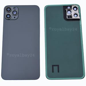 IPHONE 11 Pro Max Verre Couvercle de la Batterie + Verre pour Appareil Photo Dos