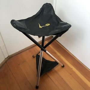 GCI Outdoor PackSeat Portable Tripod Camping Sports Stool Fishing Chair Travel