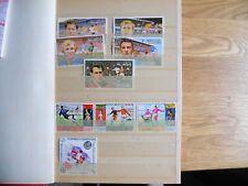 Fußballbriefmarken WM 1970 und 1982