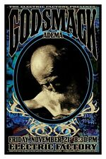 Godsmack Adema 2003 Ltd Ed Sgned Concert Poster