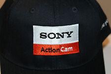 Sony Action Cam Camcorder Vintage Hook and Loop Hat Cap Adjustable Size