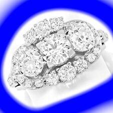 Markenlose Ringe Echtschmuck aus Weißgold mit P1 Reinheit